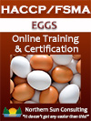 HACCP/FSMA Certification: Egg Processing