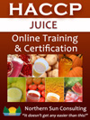 Juice HACCP Certification - Online Course