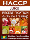 HACCP Recertification: FDA Juice