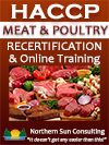 HACCP Recertification: USDA/FSIS Meat & Poultry
